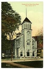 Port Jervis NY - HOME OF THE DEER PARK CLUB - Postcard