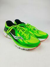 Saucony Mens 8 Kinvara 5 Natural Series Running Shoes Sneakers Green 4mm Offset