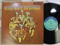 Country Lp Sons Of The Pioneers Room Full Of Roses On Rca