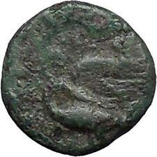 Klazomenai in Ionia 380BC Authetic Ancient Greek Coins Apollo Cult Swan i49596