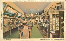 1938 Eureka California Art Store Interior Perfume Metrocraft Humboldt Redwood