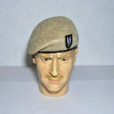 Banjoman 1:6 Scale Custom Made Beret - S.A.S Beige With Patch