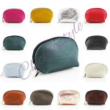 Ladies VP1.75 Vera Pele Soft Leather Half-Moon Leather Coin Purse Girls Pouch