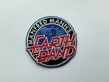Manfred Mann's Earth Band Patch Sew or Iron On