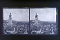 Loches Francia Foto Stereo Negativo Su Film Morbido 1912