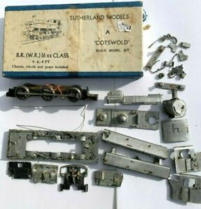 SUTHERLAND COTSWOLD SCALE MODELS KIT BR WR 0-6-0 16xx CLASS LOCOMOTIVE Stripped