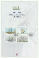 South Africa Sailing The Southern Oceans 1999 Ship Yacht Transport souvenir card