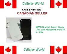 BRAND New Back Battery Housing Cover Glass Replacement iPhone 4G 4 white - 9504