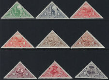 NYASSA COMPANY: 1924 Postage Due set SG D132-40 mint hinged