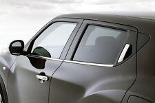 NISSAN JUKE 10-16 F15 - CHROME Window Trim Side Door Sill Covers 3M Tuning Frame