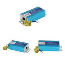 MagiDeal 3Pcs RJ45 Gigabit Ethernet Network Device Surge Protector Arrester