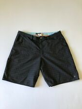 """Quick Silver Men's Board Shorts Waterman Collection Color Black Size 40"""" See Det"""