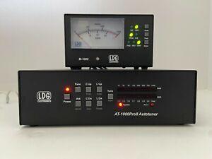 LDG AT-1000 ProII Tuner plus M-1000 meter