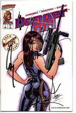 DANGER GIRL # 1 TOUR ED NM 1998 SIGNED BY J.SCOTT CAMPBELL & HARTNELL NO COA