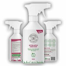 No Chew Bitter Apple Spray for Dogs Stop Chewing Deterrent Alcohol 250ml