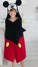 """NWT MICKEY MOUSE HOODED BATH WRAP 100% COTTON 25"""" X 50"""""""