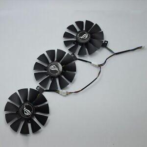 87MM Graphics Card Cooler Fan For ASUS Strix GTX 1060 OC 1070 1080 GTX 1080Ti RX