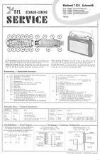 ITT/Schaub-Lorenz/Graetz Service Manual für Weekend T 50 automatic