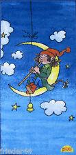 Pixi Kinderteppich Mond Motiv blau 67 X 130 Cm