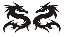 Tribal dragons decal sticker car van scooter window tailgate bumper
