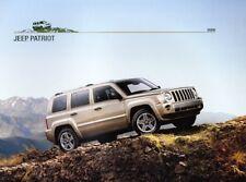 2008  08 Jeep Patriot Original sales  brochure