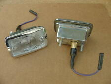 1965 Dodge Polara Monaco 500 Custom 880 NOS MoPar Back Up LAMPS PAIR Chryco