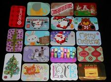 18 Collectible Gift Card TARGET +Holiday Department Store Dif Lot No Value <2010