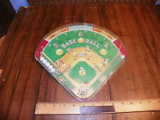 Vintage BASEBALL BAGATELLE Pinball Game                                        *