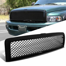 New Mesh Upper Bumper Grille/Grill  for 1994-02 Dodge RAM 1500 2500 Black ABS