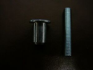 1 Ikea Cap 1048641 PLUS 1 Ikea Threaded Rod 100032,