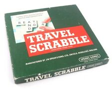 Vintage Travel Scrabble Spears Games - Boxed and Complete - Family Games