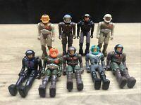 Lot Of 9 - Vintage 1980's  STARCOM Action Figures