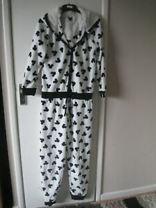 M&S Women's Micky Mouse One Piece, Size 10, Holidays, Casual **Blu303*