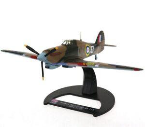 1/72 Diecast Plane UK Hawker Hurricane MK IIB Royal Air Force WWII Aircraft