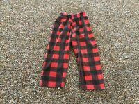 Girls Plaid Pants 18M
