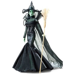 💚 *NEW* BARBIE The Wizard of Oz Fantasy Glamour Wicked Witch of the West ~NRFB