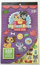 332 My Best Pet Friends Stickers Party Favors Scrapbook Dog Cats Fish Puppy
