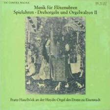 Franz Haselböck-Musique pour flûtes montres, spieluh Disque Vinyle - 137541