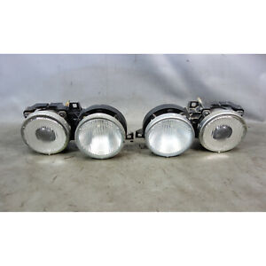 BMW E30 3-Series Genuine Ellipsoid Projector Headlight Conversion Pair OEM