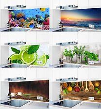 Küchenrückwand Acrylglas 1000 Motive Spritzschutz Fliesenspiegel Küche Herd #