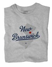 New Brunswick New Jersey NJ T-Shirt MAP