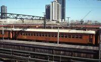 CSS&SB CHICAGO SOUTH SHORE & SOUTH BEND Railroad Train Yard 1968 Photo Slide
