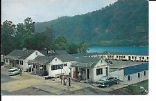 (E) Old 1950's Cars at Gas Station, Edgewater Steak House and Motel 7/16/1962