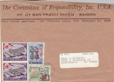1980s Vietnam #291(2), #381, #385 on cover to US *d