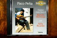 Paco Pena Plays Montoya And Ricardo  -  CD, VG