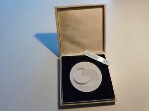 DDR Ehrenzeichen Designpreis - Medaille Meissen Gutes Design DDR 1989  im Etui