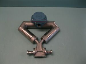 "Micro Motion CMF025 M321NU Mass Flow Sensor 1/2"" Tri-Clamp A4 (2922)"