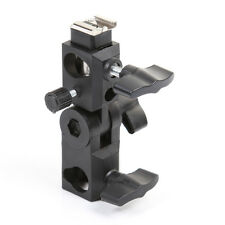 Flash Bracket HotShoe Umbrella Holder Swivel Light Stand for Canon/Nikon/Yongnuo