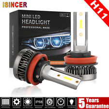 H11 LED Headlight 6000K 1500W 225000LM Conversion Kit Low Beam Bulbs High Power
