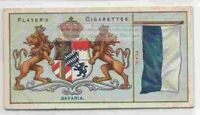 Bavaria Flag Banner Emblem Germany 110+ Y/O Ad Trade Card